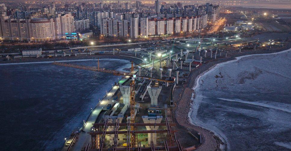 васильевский остров фото мост на