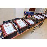 Церемония награждения победителей X юбилейного конкурса «Лидер строительного качества»