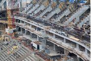Выездное совещание губернатора Санкт-Петербурга Георгия Полтавченко на строительстве стадиона Зенит-Арена