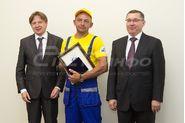 Награждение лучших строителей в Минстрое, Якушев Владимир Владимирович, Глушков Антон Николаевич