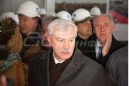 Выездное совещание губернатора Санкт-Петербурга Георгия Полтавченко на строительстве стадиона Зенит-Арена, Полтавченко Георгий Сергеевич