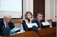 Каплан Лев Моисеевич, Толдова Ирина Геннадьевна. Конференция